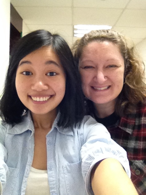 With Beth, our Medical/Surgical class teacher.
