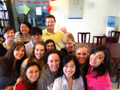 Only some of my Shanghai family!