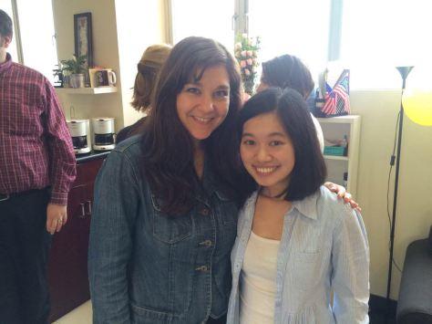 Dr. Beth, our pharmacology teacher!